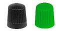 kapica ventila crna-zelena